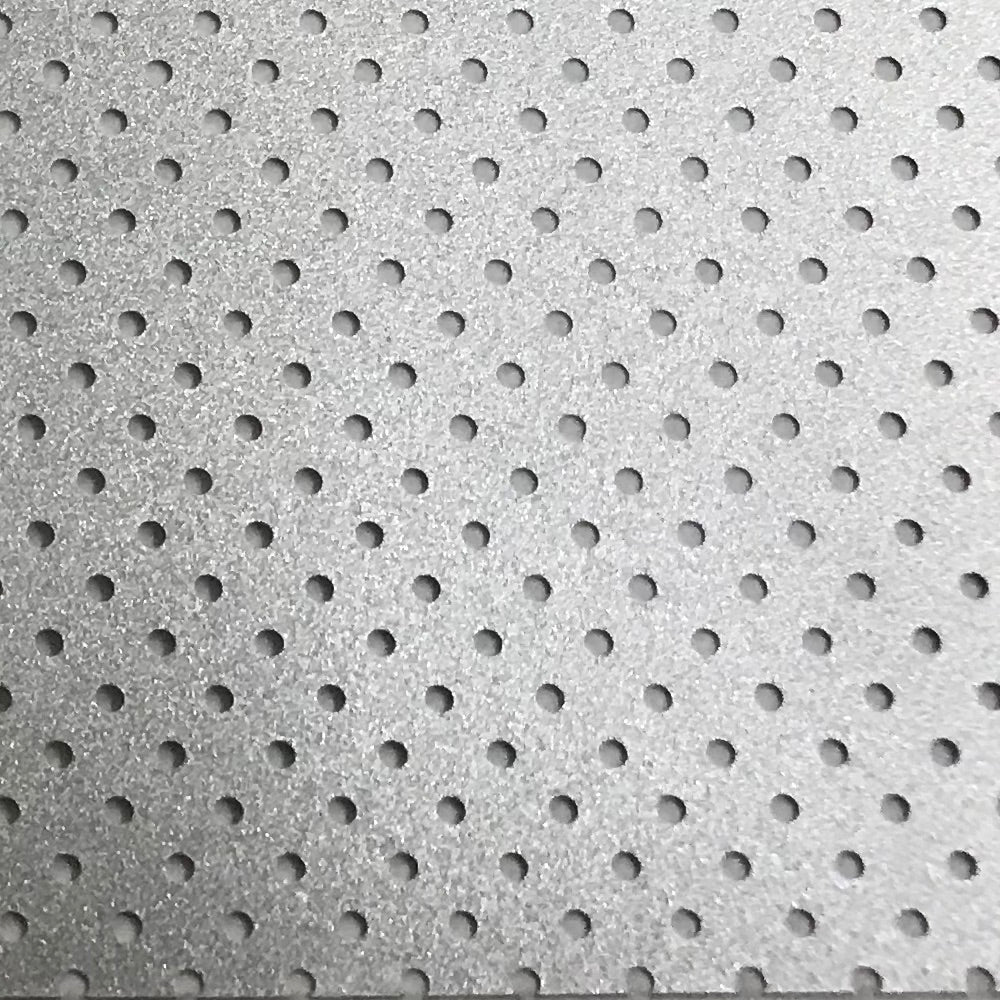 Perforated Silver Heat Transfer Vinyl 54yds x 19""
