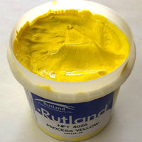 RUTLAND EC4026 NPT PROCESS YELLOW CMYK PLASTISOL OIL BASE INK FOR SILK SCREEN PRINTING