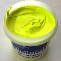 RUTLAND M34041 NPT OPAQUE FLUOR LEMON PLASTISOL OIL BASE INK FOR SCREEN PRINTING