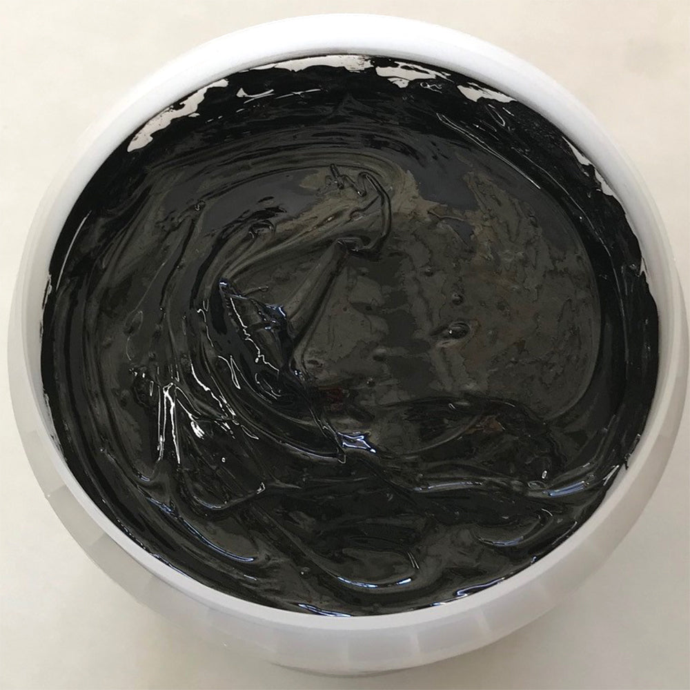 RUTLAND EH8033 NPT SOLID BLACK PLASTISOL OIL BASE INK FOR SILK SCREEN PRINTING