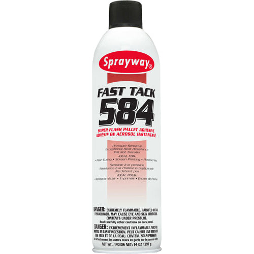 SPRAYWAY 584 FLASH ADHESIVE SPRAY