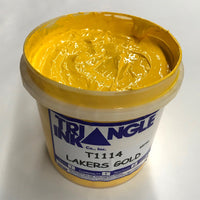 TRIANGLE 1114 LAKERS GOLD PLASTISOL OIL BASE INK FOR SILK SCREEN PRINTING