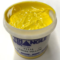 TRIANGLE 1116 LEMON YELLOW PLASTISOL OIL BASE INK FOR SILK SCREEN PRINTING