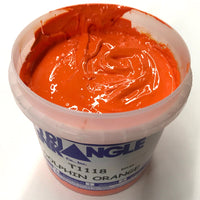 TRIANGLE 1118 DOLPHIN ORANGE PLASTISOL OIL BASE INK FOR SILK SCREEN PRINTING