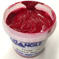 TRIANGLE 1125 BRIGHT RED PLASTISOL OIL BASE INK FOR SILK SCREEN PRINTING