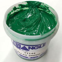 TRIANGLE 1144 DALLAS GREEN PLASTISOL OIL BASE INK FOR SILK SCREEN PRINTING