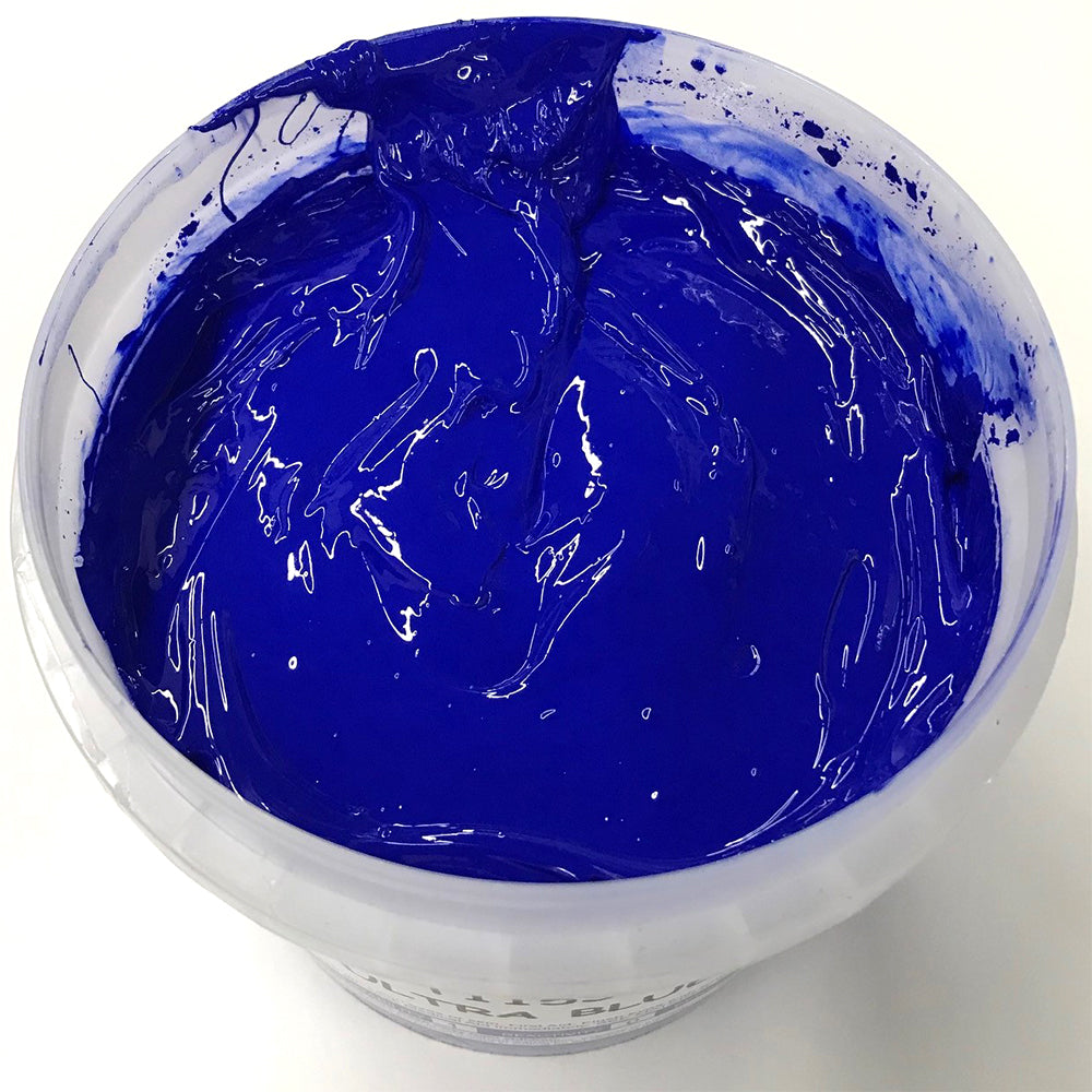 TRIANGLE 1153 ULTRA BLUE PLASTISOL OIL BASE INK FOR SILK SCREEN PRINTING