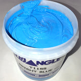TRIANGLE 1155 BRIGHT BLUE PLASTISOL OIL BASE INK FOR SILK SCREEN PRINTING