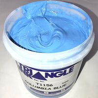 TRIANGLE 1156 COLUMBIA BLUE PLASTISOL OIL BASE INK FOR SILK SCREEN PRINTING