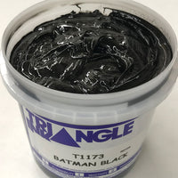 TRIANGLE 1173 BATMAN BLACK PLASTISOL OIL BASE INK FOR SILK SCREEN PRINTING