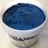 TRIANGLE 1190-57 ROYAL BLUE SHIMMER PLASTISOL OIL BASE INK FOR SILK SCREEN PRINTING