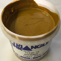 TRIANGLE 1190-76 CARAT GOLD SHIMMER PLASTISOL OIL BASE INK FOR SILK SCREEN PRINTING
