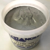 TRIANGLE 1190-799 SUPER SILVER SHIMMER PLASTISOL OIL BASE INK FOR SILK SCREEN PRINTING