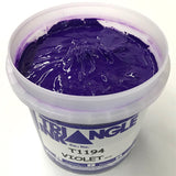 TRIANGLE 1194 VIOLET PLASTISOL OIL BASE INK FOR SILK SCREEN PRINTING