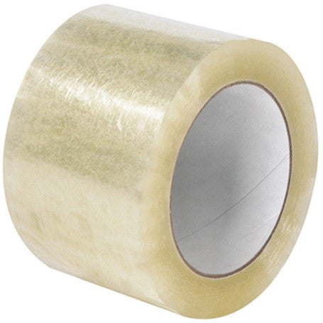 "CLEAR TAPE 3"" x 110 yds"