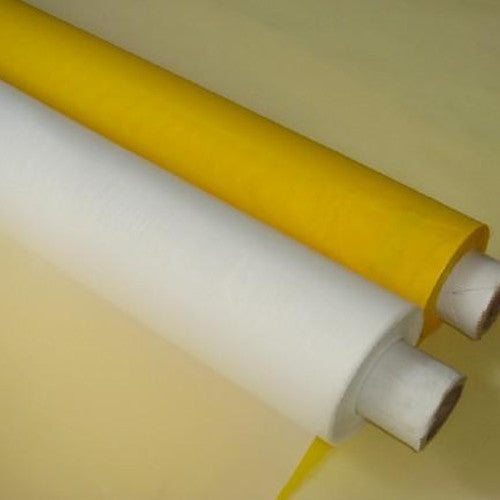 "Screen Printing Mesh Yellow 62"" Wide x 36"" Long (1 yard)"