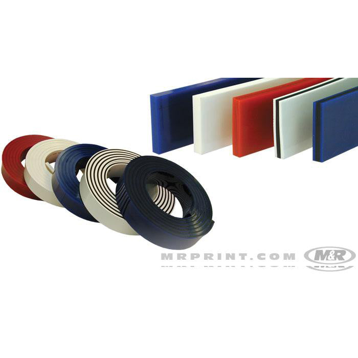 SQUEEGEE BLADES – Single & Triple Durometer Rubber