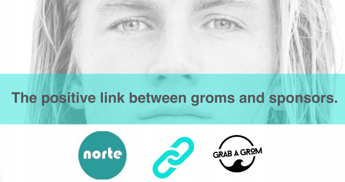 Announcement - Norte's new partnership with Grab A Grom