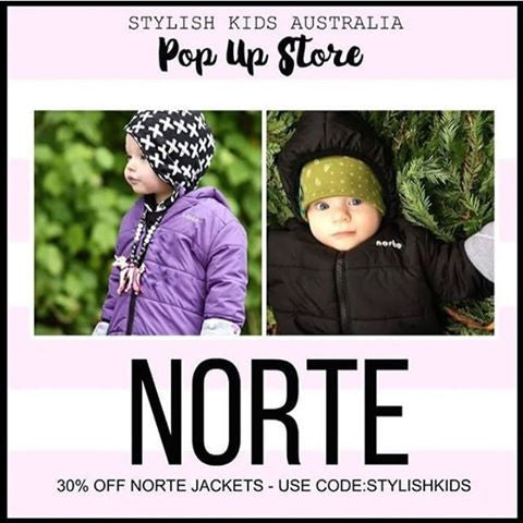 30% OFF + FREE SHIPPING on THE BEST kids jackets in Oz