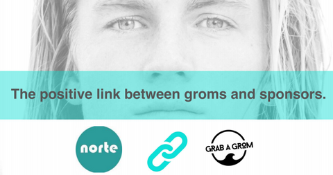 Visit Grab A Grom for Sponsorship Info