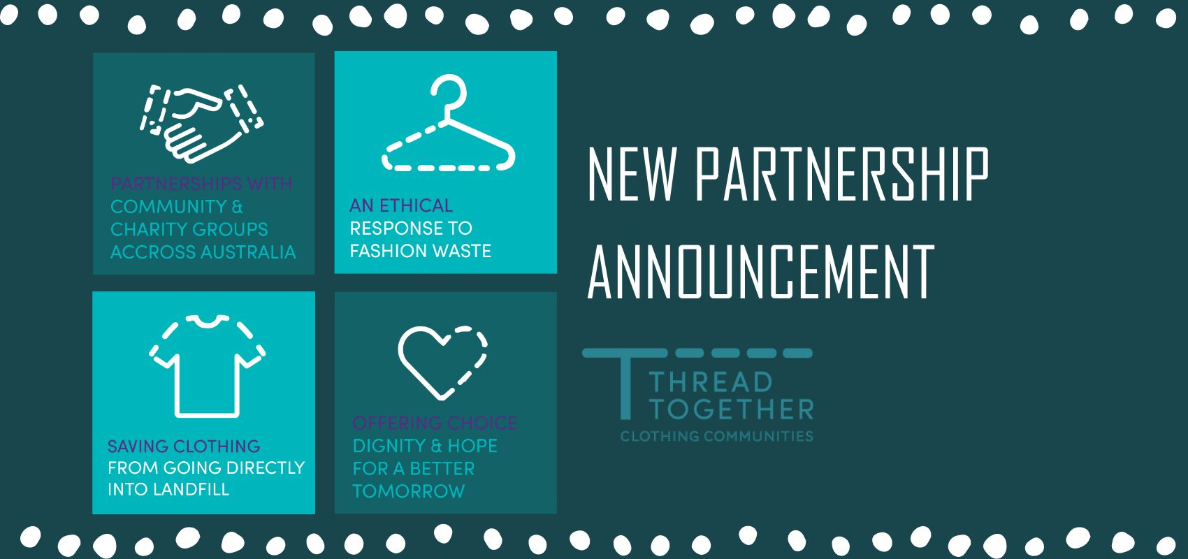 A new partnership between Norte and Thread Together