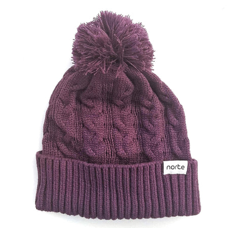 Ole Mrs Berry - Cable Knit Beanie - Norte, Beanie, Norte, Norte