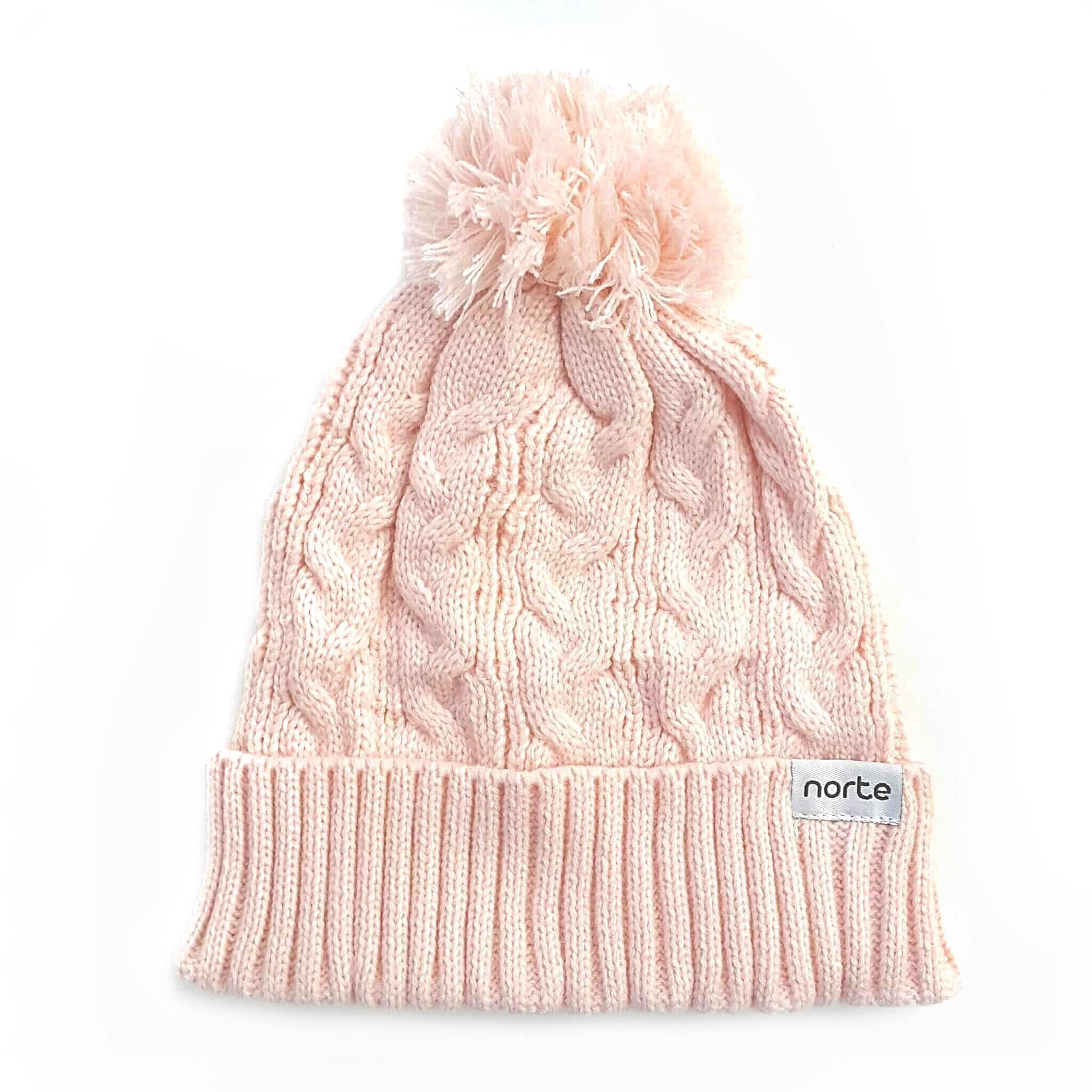 Life s a Peach - Cable Knit Beanie 56f72610bff