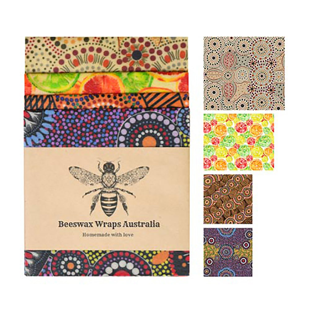Beeswax Wraps Family Starter Pack