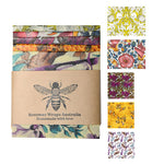 Beeswax Wraps - Lunch & Snack Pack