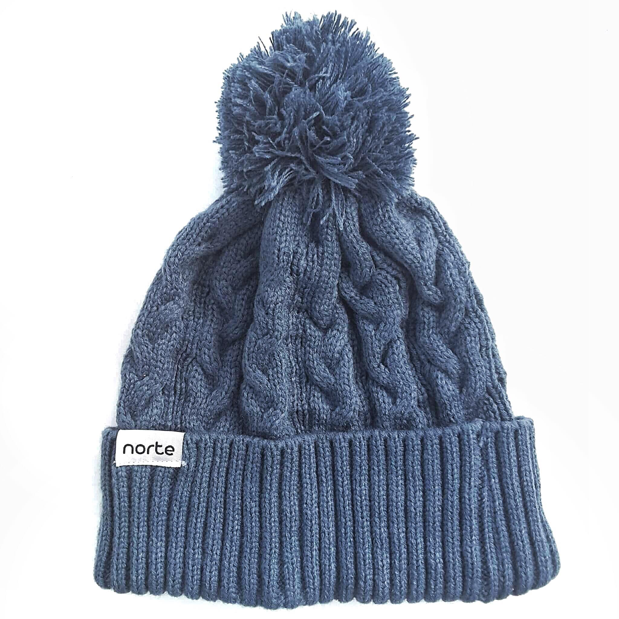 07b4f3a1898 Still Got The Blues - Cable Knit Beanie – Norte