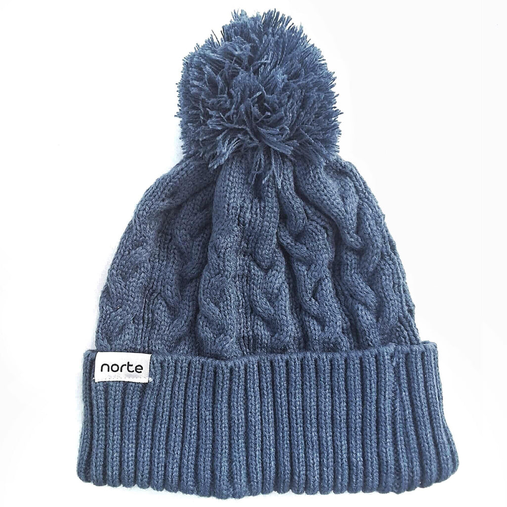 Still Got The Blues - Cable Knit Beanie - Norte, Beanie, Norte, Norte