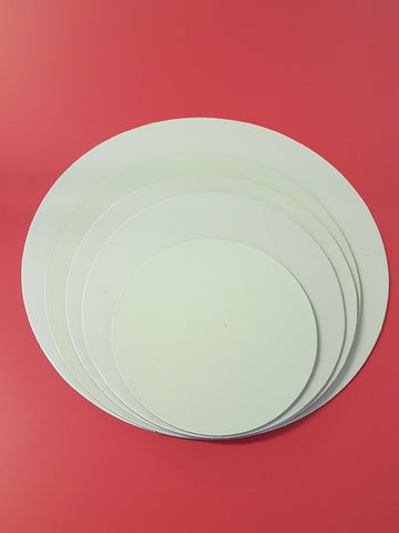 Cake Boards Cardboard Round White