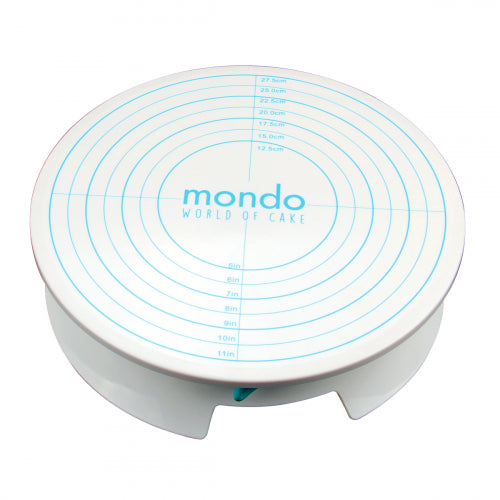 Mondo Cake Decorating Rotating Turn Table with Brake
