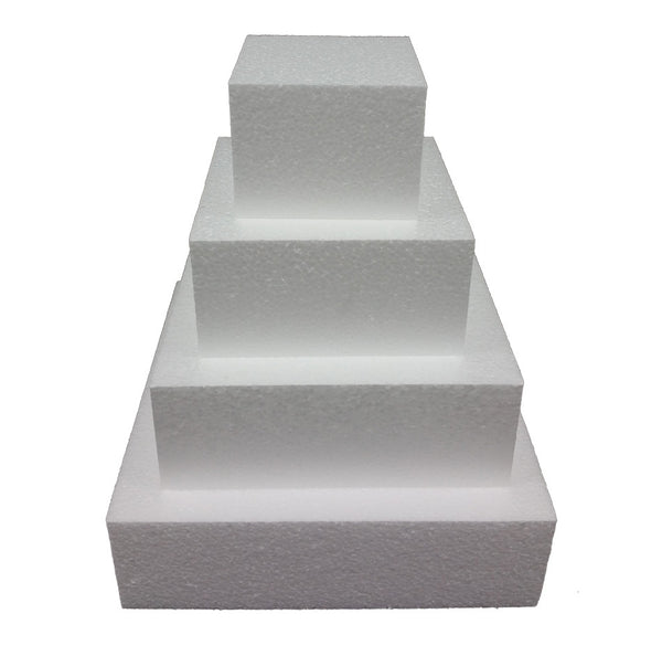 "Foam Dummies Square 4"" High"