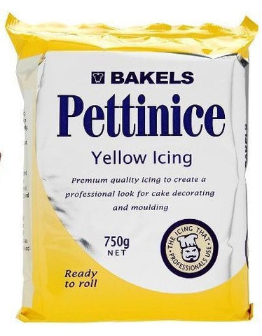 Bakels Coloured Pettinice Fondant 750g