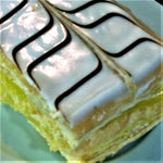 Lemon or Pudding Slices - The Bake Oven