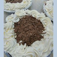Chocolate Cream Pie 9inch - The Bake Oven