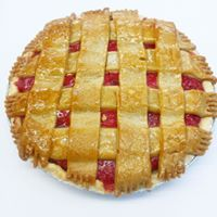 Cherry Sour Cream Pie 9inch