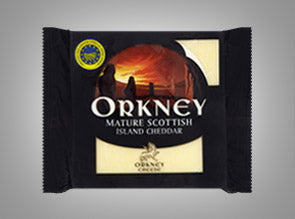 Orkney Scottish Mature Cheddar 200 g - The Bake Oven