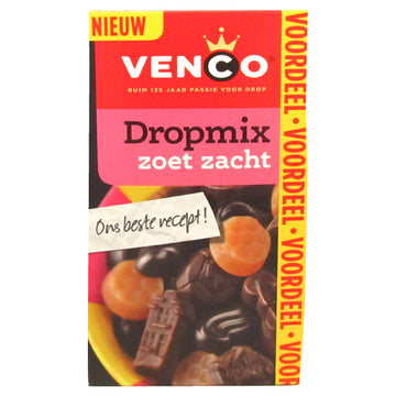 Venco Dropmix Soft Sweet Licorice 500g