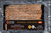 Simply West Coast Keta Bacon Style Salmon 250g - The Bake Oven