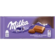 Milka Chocolate Dessert Bar 100g - The Bake Oven