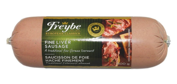 Freybe Fine Liver Sausage 125g - The Bake Oven