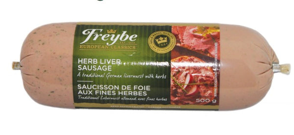 Freybe Herb Liver Sausage 125g - The Bake Oven