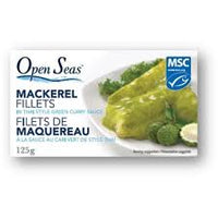 Open Seas Mackeral in Thai Green Curry 125g - The Bake Oven
