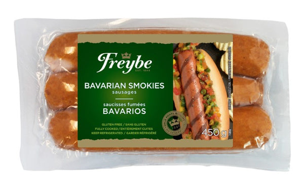 Freybe Skinless Bavarian Smokies 450g - The Bake Oven