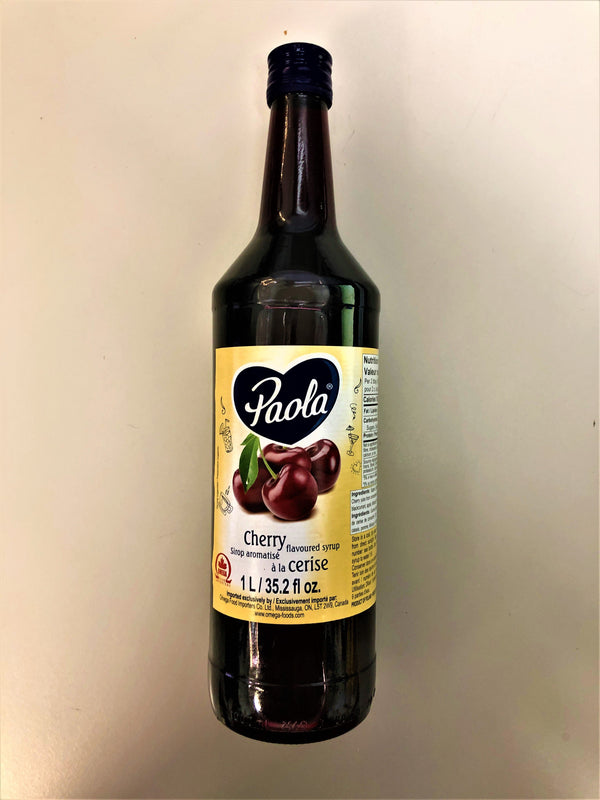 Paola Sour Cherry Syrup 1l - The Bake Oven