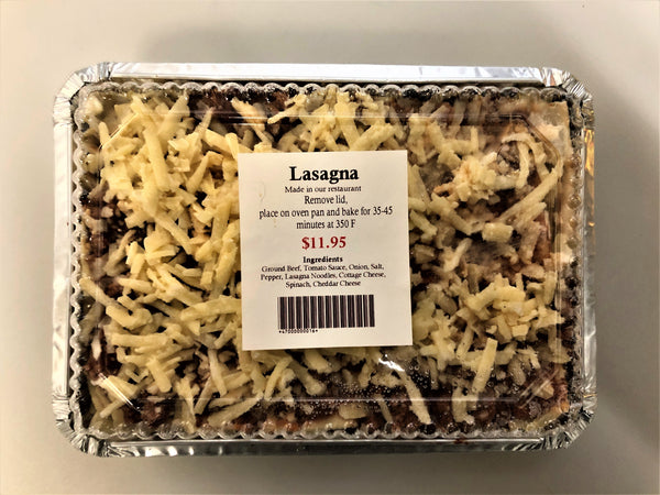 Lasagna 850g - The Bake Oven