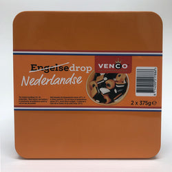 Venco Netherlands /English Drop Tin 750 g