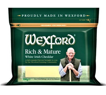 Wexford Irish Mature Cheddar 200g